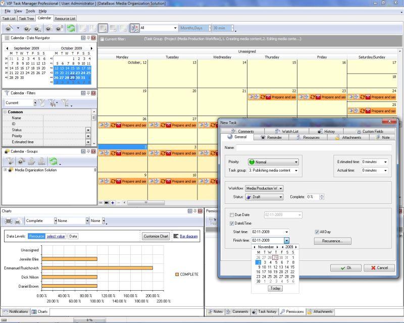 Calendar Planner Program : Agenda planner software try real time planning