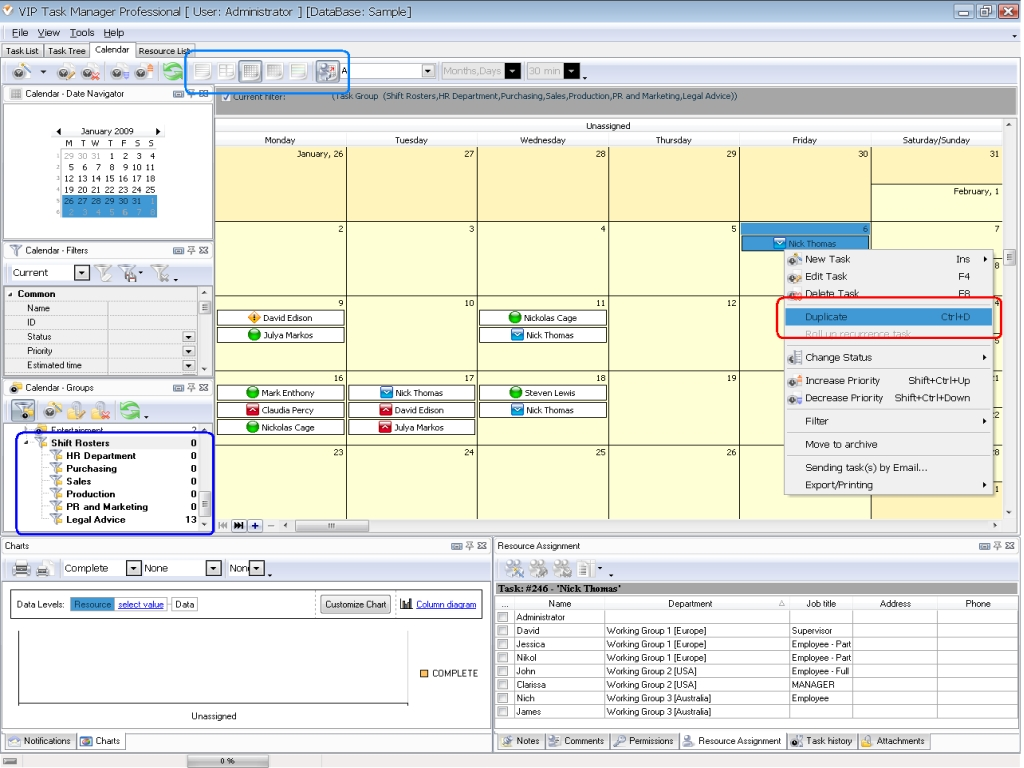 Calendar Management Software Multi User Calendar Manager