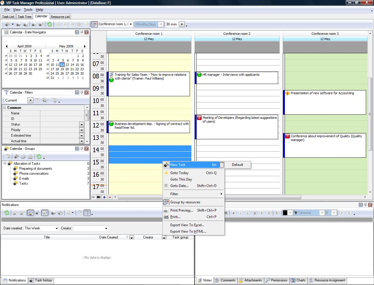 calendar planning software plan and share schedules
