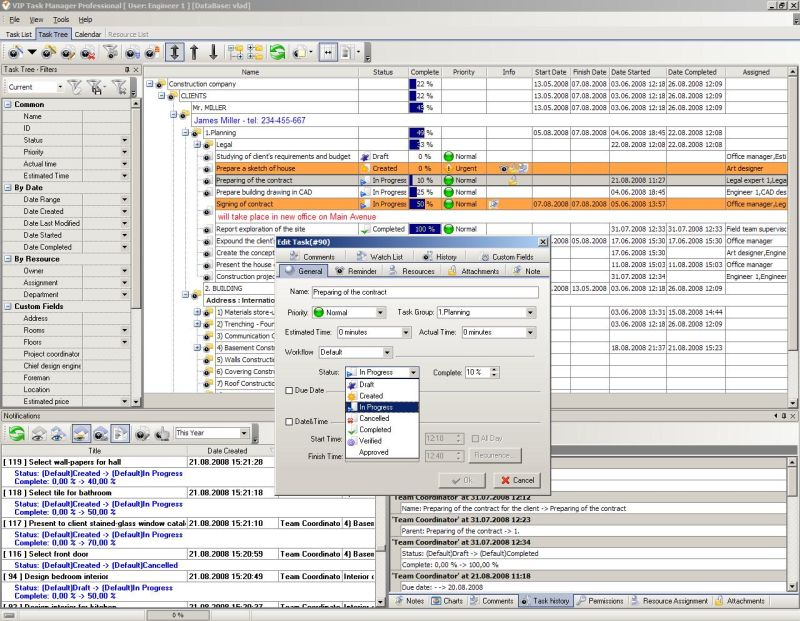 Construction scheduling software – Construction Site Plan Software