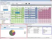 Group calendar software - tool to support HR, managerial, business and technical activities