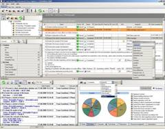 Project management client-server software for Windows