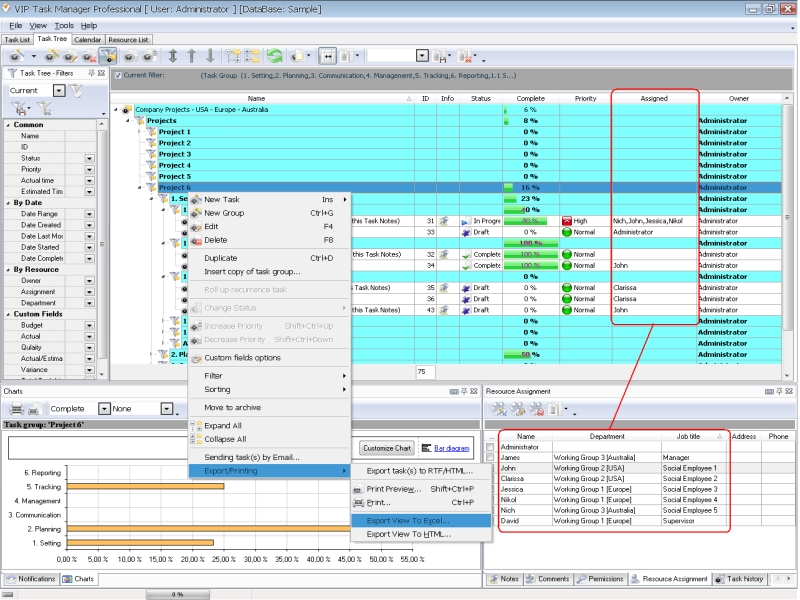 project report software save a great amount of time on the project