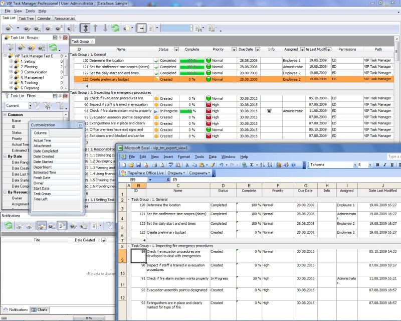 Spreadsheet Template Management Software For Project Collaboration