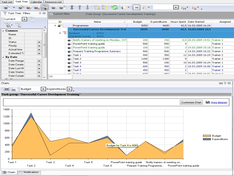 Training Plan Software Using Tasks And Schedules To
