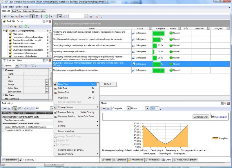 Work Progress Software Tool To Support Project Manager