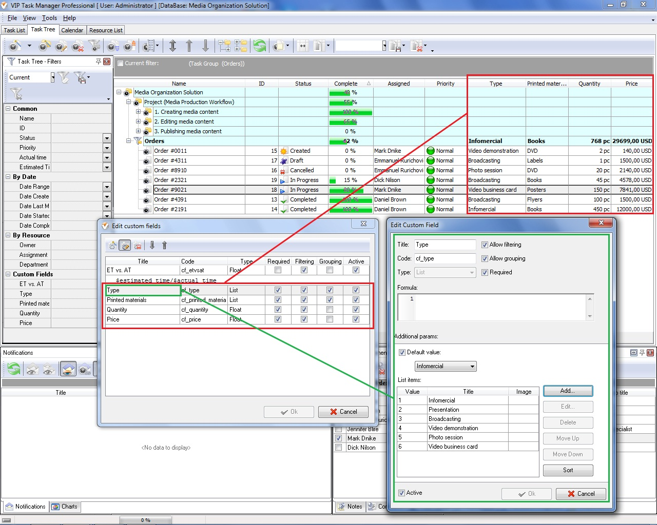 Project management evaluation shared calendar program alramifo Image collections