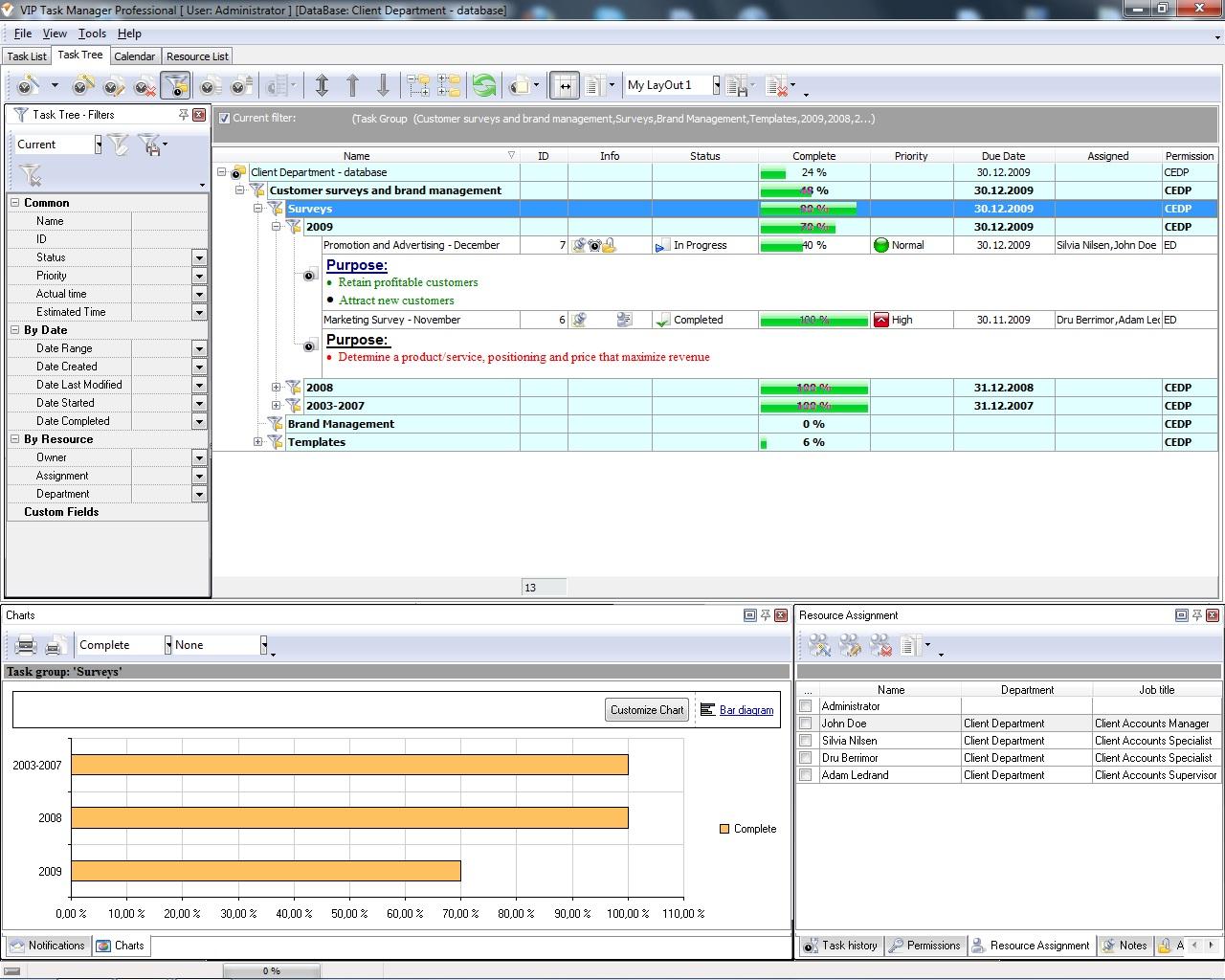 project management program review
