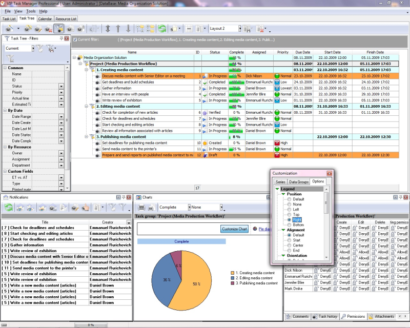 Shared Project Management Software