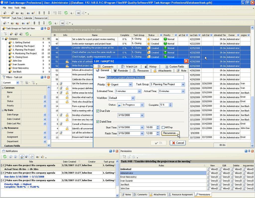Task Management Solution